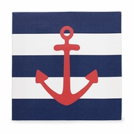 Anchor Gallery Wrapped Canvas - 12 x 12""