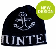 Anchor Personalized Knit Beanie Hat