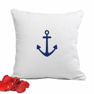 Anchor Throw Pillow - 12 x 12""