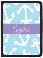 Anchors Away Personalized iPad AIRFolio Cover - DESIGN YOUR OWN!