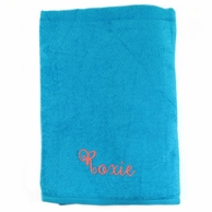 Aqua Personalized Towel