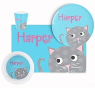 Are You Kitten Me Personalized Tableware Set