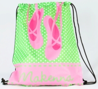 Ballet Personalized Drawstring Backpack