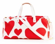 Ban-do Extreme Supercute Hearts Getaway Duffle Bag
