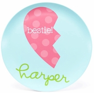 Bestie Best Friends Personalized Kids Plate