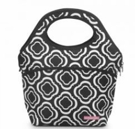 Black In The Loop Insulated Lunch Tote - MONOGRAMMED