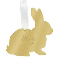 Bunny Rabbit Personalized Pet Ornament