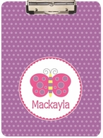 Butterfly Personalized Clipboard
