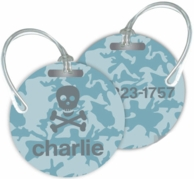 Camo Personalized Bag Tags - SET OF 2 - CHOOSE YOUR DESIGN!