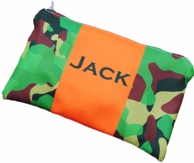 Camo Personalized Pencil Case