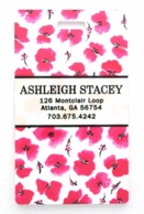 Cherry Blossoms Personalized Luggage Tags - SET OF 2