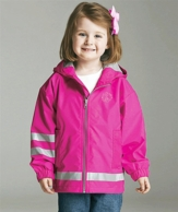 Children's Monogrammed Rain Coat