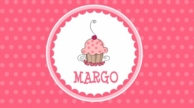 Cupcake Personalized Kids Placemat