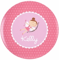 Cupid Girl Personalized Kids Plate / Bowl