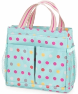 Darling Dots Monogrammed Shower Caddy
