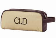 Dawson Men's Monogrammed Toiletry Bag