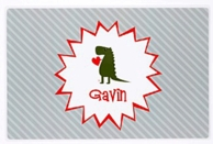 Devoted Dino Personalized Kids Placemat