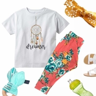 Dreamer Personalized Kids Tee