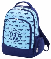 Finn Monogrammed Backpack