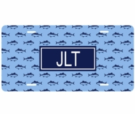 Finn Monogrammed Car Tag License Plate