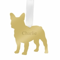 French Bulldog Personalized Pet Ornament