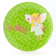 Garden Fairy Personalized Kids Plate / Bowl