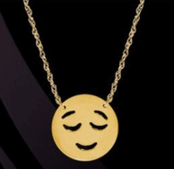 Happy Emo Emoji Necklace