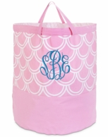 Harbor Bae Baby Pink Monogrammed Laundry Tote