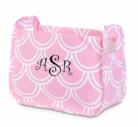 Harbor Bae Baby Pink Personalized Nursery Caddy