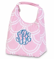 Harbor Bae Baby Pink Quilted Lunch Tote