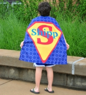 Honeycomb Personalized Kids Super Hero Cape