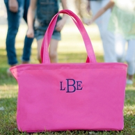 Hot Pink Monogrammed Ultimate Tote