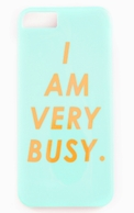 I Am Very Busy iPhone 5/5s or iPhone 6 Case