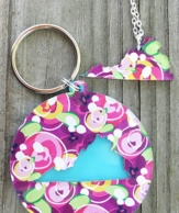 I {Heart} My State Necklace & Key Chain - CHOOSE YOUR MARY BETH GOODWIN PRINT!