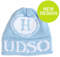 Initial Stamp Personalized Knit Beanie Hat