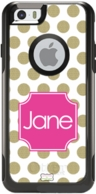 iPhone 6 Monogrammed OtterBox� <b>COMMUTER SERIES</b> Covers
