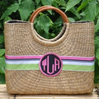 Jane Large Basket Bag