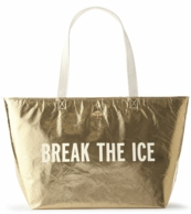 Kate Spade Break The Ice Gold Cooler Tote