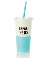 Kate Spade Break The Ice Insulated Tumbler with Straw