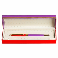 Kate Spade New York Ballpoint Pen - Red & Purple
