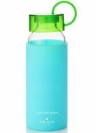 Kate Spade New York Colorblock Turquoise Water Bottle