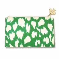 Kate Spade New York Pencil Pouch with Pencils - Painterly Cheetah Ikat
