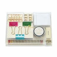 Kate Spade Tackle Box Desk Gift Set - Whistle While You Work