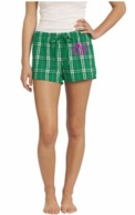 Kelly Green Monogrammed Boxer Shorts