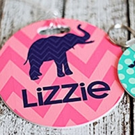 Kids Personalized Bag Tags