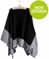Knit Monogrammed Ponchos