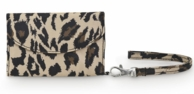 Leopard Cell Phone ID Wristlet