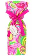 Lilly Pulitzer All Nighter Wine Tote Gift Bag