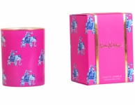 Lilly Pulitzer Bazaar Glass Soy Candle