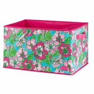 Lilly Pulitzer Big Flirt LARGE Storage Box